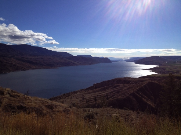 On the road from Salmon Arm to Steveston