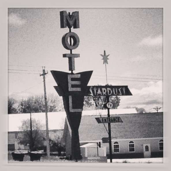 I like old motel signs. I believe this one was in Wyoming