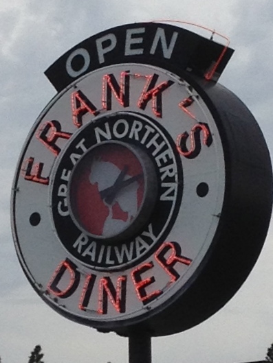 Stopped at this diner in Washington. Neat place, good burger.