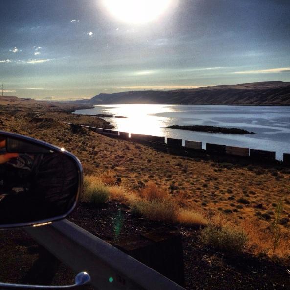 roadside in Oregon