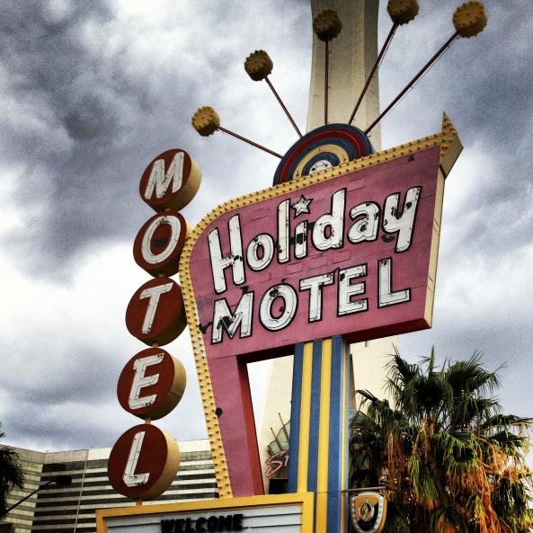 my motel in Las Vegas.....swanky