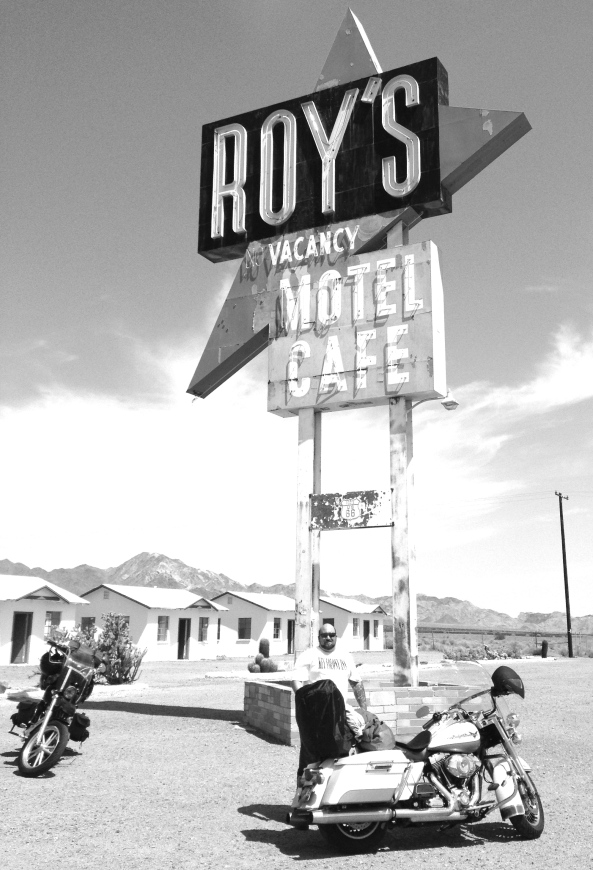 Roys on old route 66